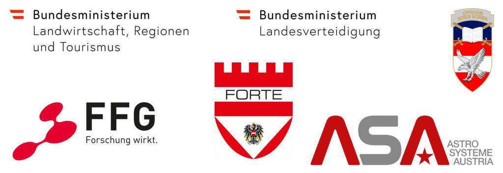 OptoFence II Logos arrangiert