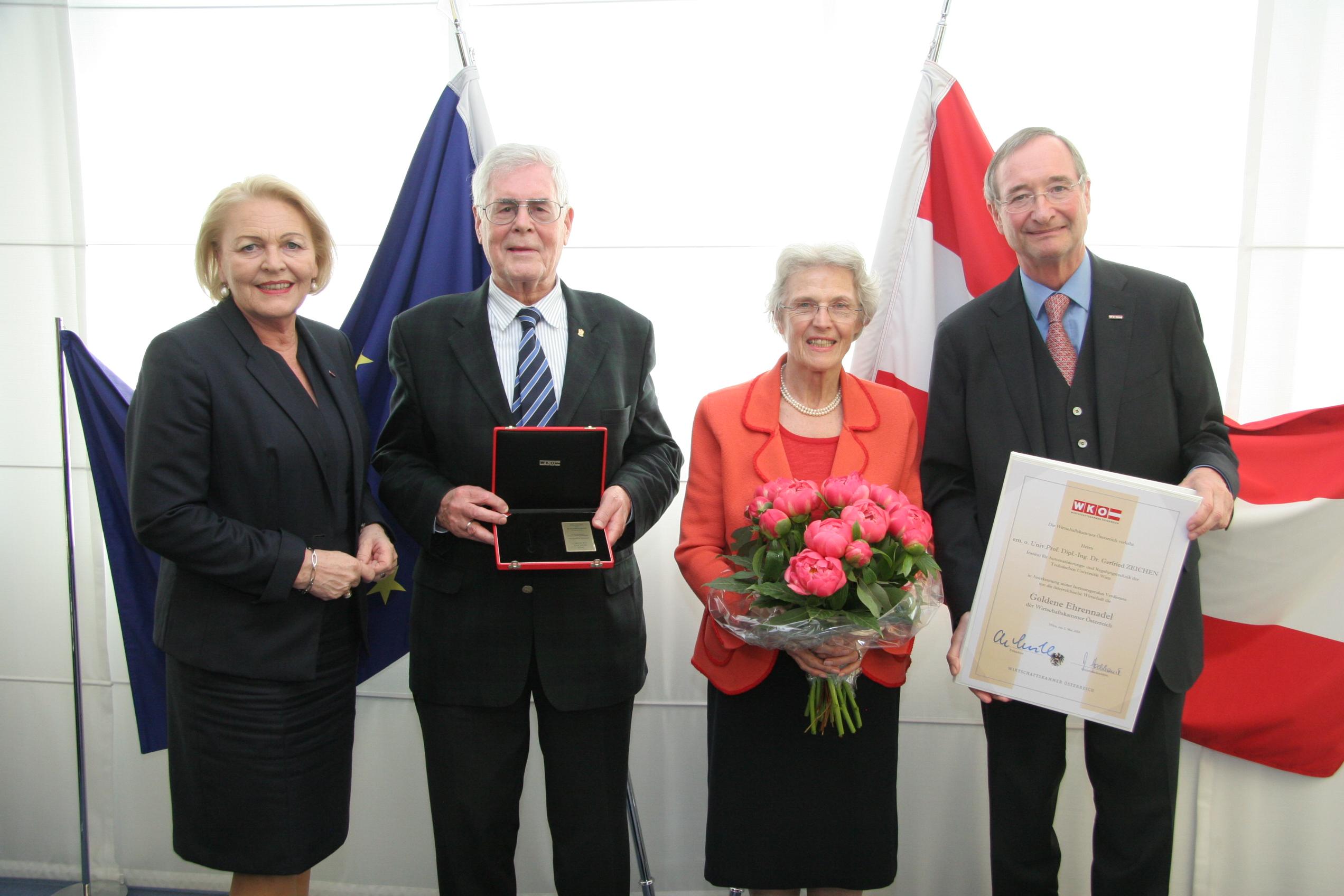 Verleihung Prof. Zeichen