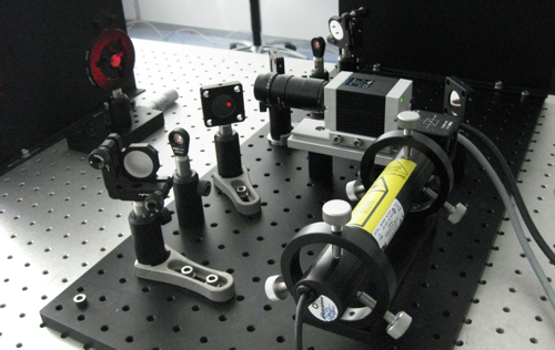 Laserspeckle Interferometer